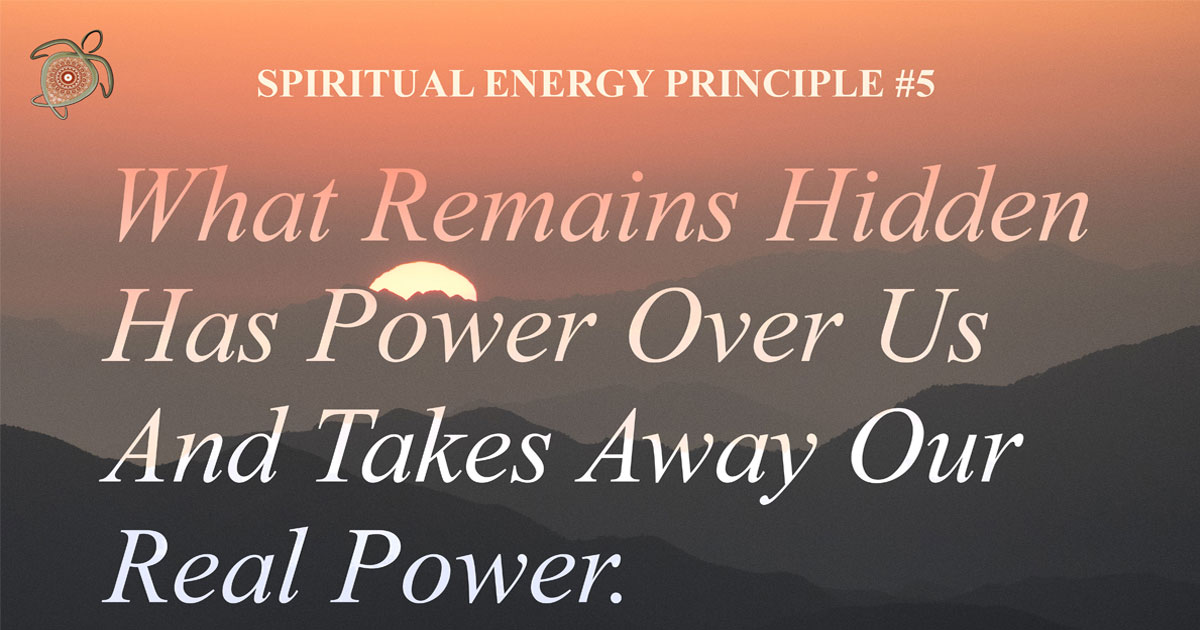 Spiritual Energy Principle 5